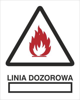 Znak Linia dozorowa