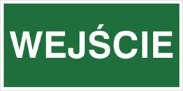 Obrazek dla kategorii Znak Wejście (816)