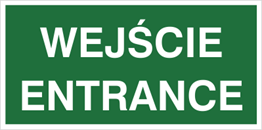 Obrazek dla kategorii Znak Wejście entrance (816-06)