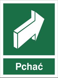 Obrazek dla kategorii Znak Pchać, aby otworzyć (817-01)