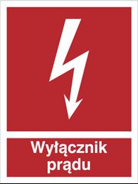 Obrazek dla kategorii Znak Wyłącznik prądu (219-01)