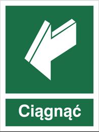 Obrazek dla kategorii Znak Ciągnąć, aby otworzyć (818-01)
