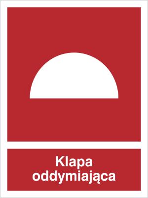 Znak Klapa oddymiająca (226-02)