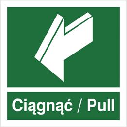 Obrazek dla kategorii Znak Ciągnąć- Pull (818-03)
