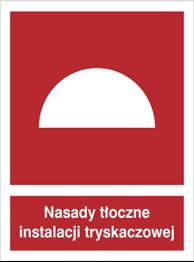 Obrazek dla kategorii Znak Nasady tłoczne instalacji tryskaczowej (228-01)