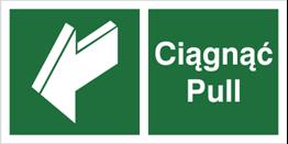 Obrazek dla kategorii Znak Ciągnąć - Pull (818-06)