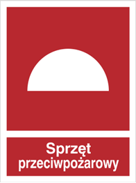 Obrazek dla kategorii Znak Sprzęt przeciwpożarowy (229-04)
