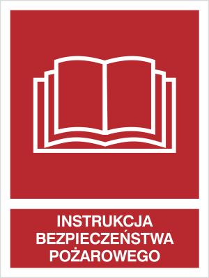 Znak Instrukcja bezpieczństwa pożarowego (229-05)