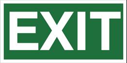 Obrazek dla kategorii Znak Exit (920-02)