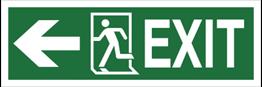 Obrazek dla kategorii Znak Exit, w lewo (987-01)