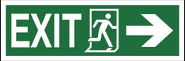 Obrazek dla kategorii Znak Exit, w prawo (987-02)