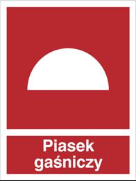 Obrazek dla kategorii Znak Piasek gaśniczy (231)