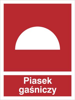 Znak Piasek gaśniczy (231)
