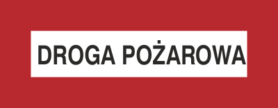 Znak Droga pożarowa (231-04)