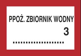 Obrazek dla kategorii Znak Ppoż. zbiornik wodny … 3 (231-13)