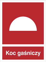 Obrazek dla kategorii Znak Koc gaśniczy (232)