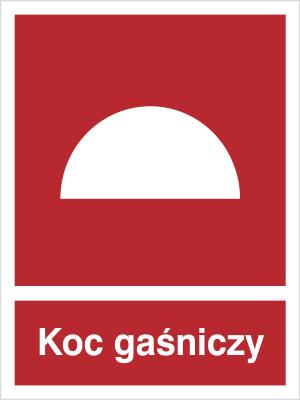 Znak Koc gaśniczy (232)