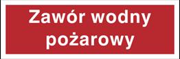 Obrazek dla kategorii Znak Zawór wodny pożarowy (808-01)