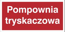 Obrazek dla kategorii Znak Pompownia tryskaczowa (808-05)