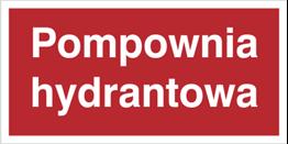 Obrazek dla kategorii Znak Pompownia hydrantowa (808-06)