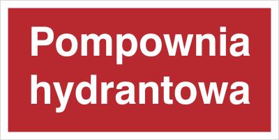 Znak Pompownia hydrantowa (808-06)