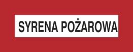 Obrazek dla kategorii Znak Syrena pożarowa (231-10)