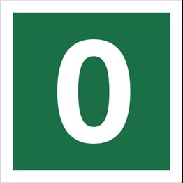 Obrazek dla kategorii Znak Stacja ewakuacyjna nr 0 (120-13)