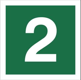 Obrazek dla kategorii Znak Stacja ewakuacyjna nr 2 (120-15)