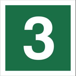 Obrazek dla kategorii Znak Stacja ewakuacyjna nr 3 (120-16)