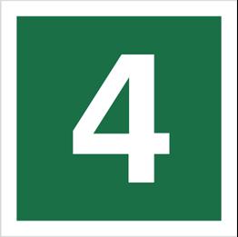 Obrazek dla kategorii Znak Stacja ewakuacyjna nr 4 (120-17)