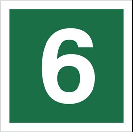 Obrazek dla kategorii Znak Stacja ewakuacyjna nr 6 (120-19)