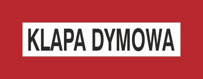 Znak Klapa dymowa (231-22)
