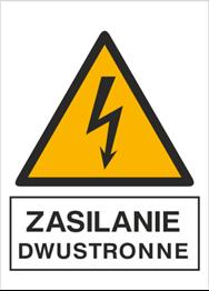 Obrazek dla kategorii Znak Zasilanie dwustronne (330-14)