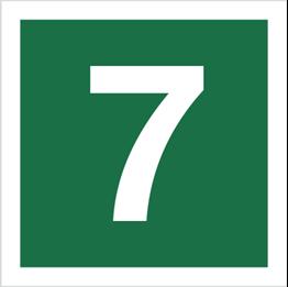 Obrazek dla kategorii Znak Stacja ewakuacyjna nr 7 (120-20)