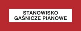 Obrazek dla kategorii Znak Stanowisko gaśnicze pianowe (231-32)