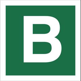 Obrazek dla kategorii Znak Stacja ewakuacyjna B (120-24)