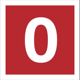 Obrazek dla kategorii Znak Cyfra 0 (808-08)