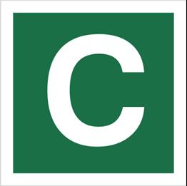 Obrazek dla kategorii Znak Stacja ewakuacyjna C (120-25)