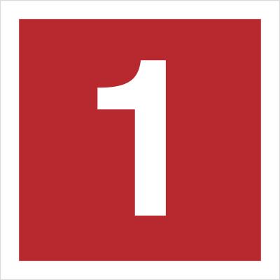 Znak Cyfra 1 (808-09)