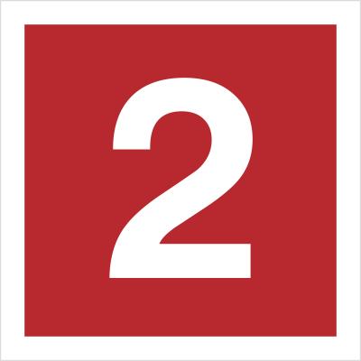 Znak Cyfra 2 (808-10)