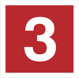 Obrazek dla kategorii Znak Cyfra 3 (808-11)