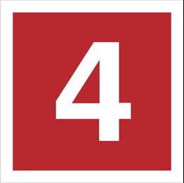 Obrazek dla kategorii Znak Cyfra 4 (808-12)