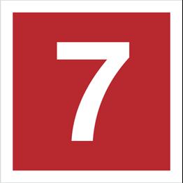 Obrazek dla kategorii Znak Cyfra 7 (808-15)