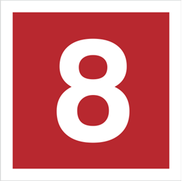 Obrazek dla kategorii Znak Cyfra 8 (808-16)