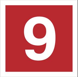 Obrazek dla kategorii Znak Cyfra 9 (808-17)