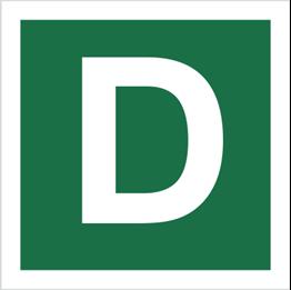 Obrazek dla kategorii Znak Stacja ewakuacyjna D (120-26)