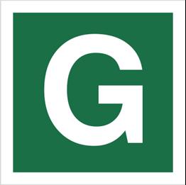 Obrazek dla kategorii Znak Stacja ewakuacyjna G (120-29)