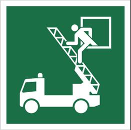 Obrazek dla kategorii Znak Okno ratunkowe (E17)