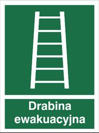 Obrazek dla kategorii Znak Drabina ewakuacyjna - z opisem (118)