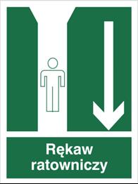 Obrazek dla kategorii Znak Rękaw ratowniczy (121)